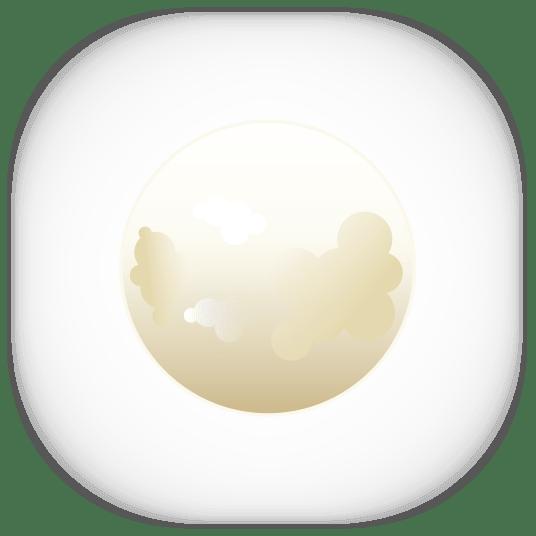 Луна вектор